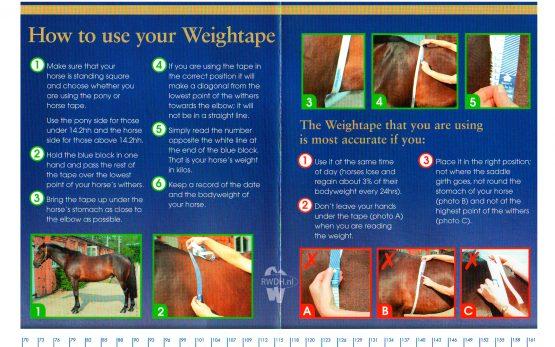 D&H Gewicht Meetlint Handleiding