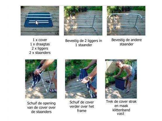 HiK9-Hondenstretcher-Montage-instrucitie