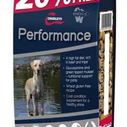 Chudleys Performance 20% gratis = 18kg