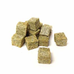 Little Gems Cubes 100gr Gedroogde Vishuid