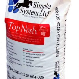 Simple System Horse Feed Top Nosh