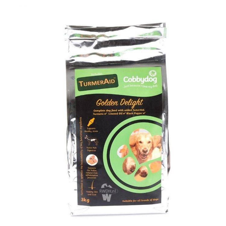 CobbyDog Golden Delight + TurmerAid ™