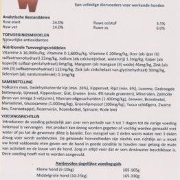 RWDH Adult Chicken Rice Vegetables 24%