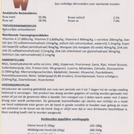 RWDH Premium Adult Fish Hondenbrok